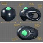 มาใหม่ เมาส์มือถือ 4 มิติ 4D Hand held USB Optical Mouse